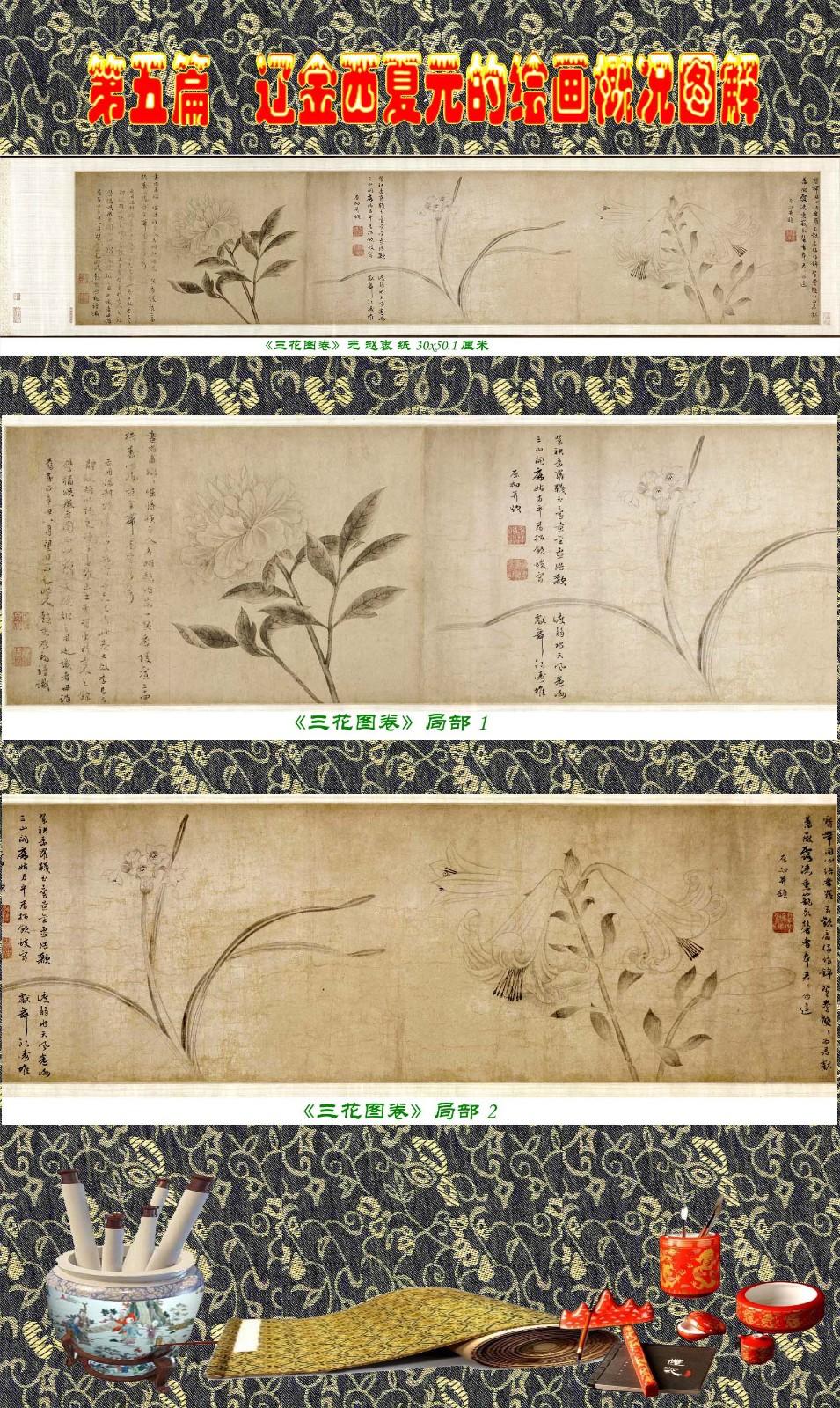 顾绍骅编辑 中国画知识普及版 第五篇 辽金西夏元的绘画概况 下 ... ..._图1-90