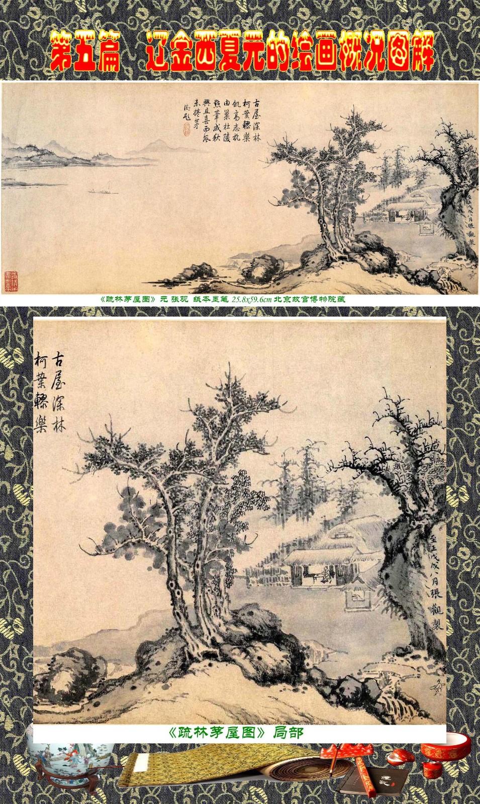 顾绍骅编辑 中国画知识普及版 第五篇 辽金西夏元的绘画概况 下 ... ..._图1-92