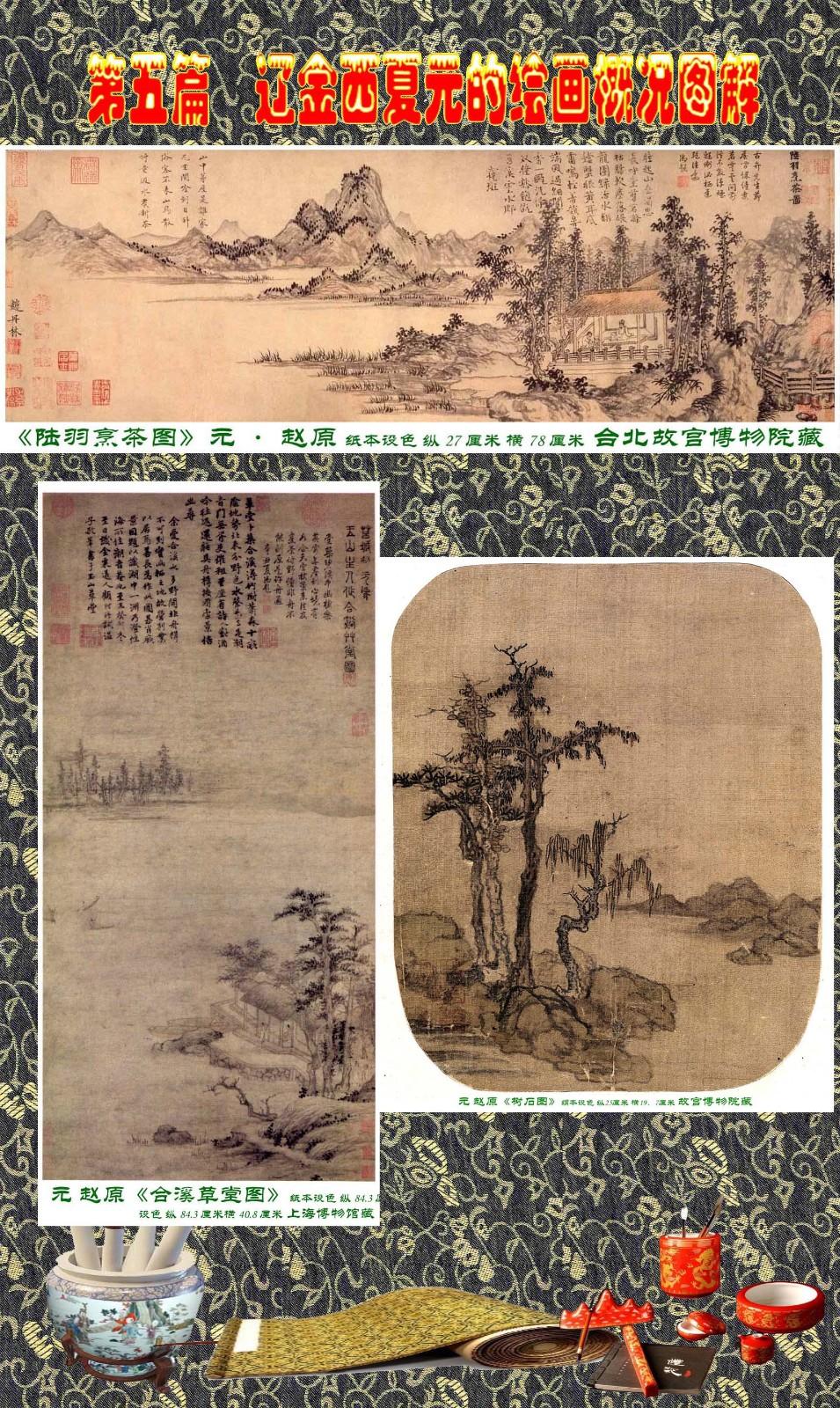 顾绍骅编辑 中国画知识普及版 第五篇 辽金西夏元的绘画概况 下 ... ..._图1-98