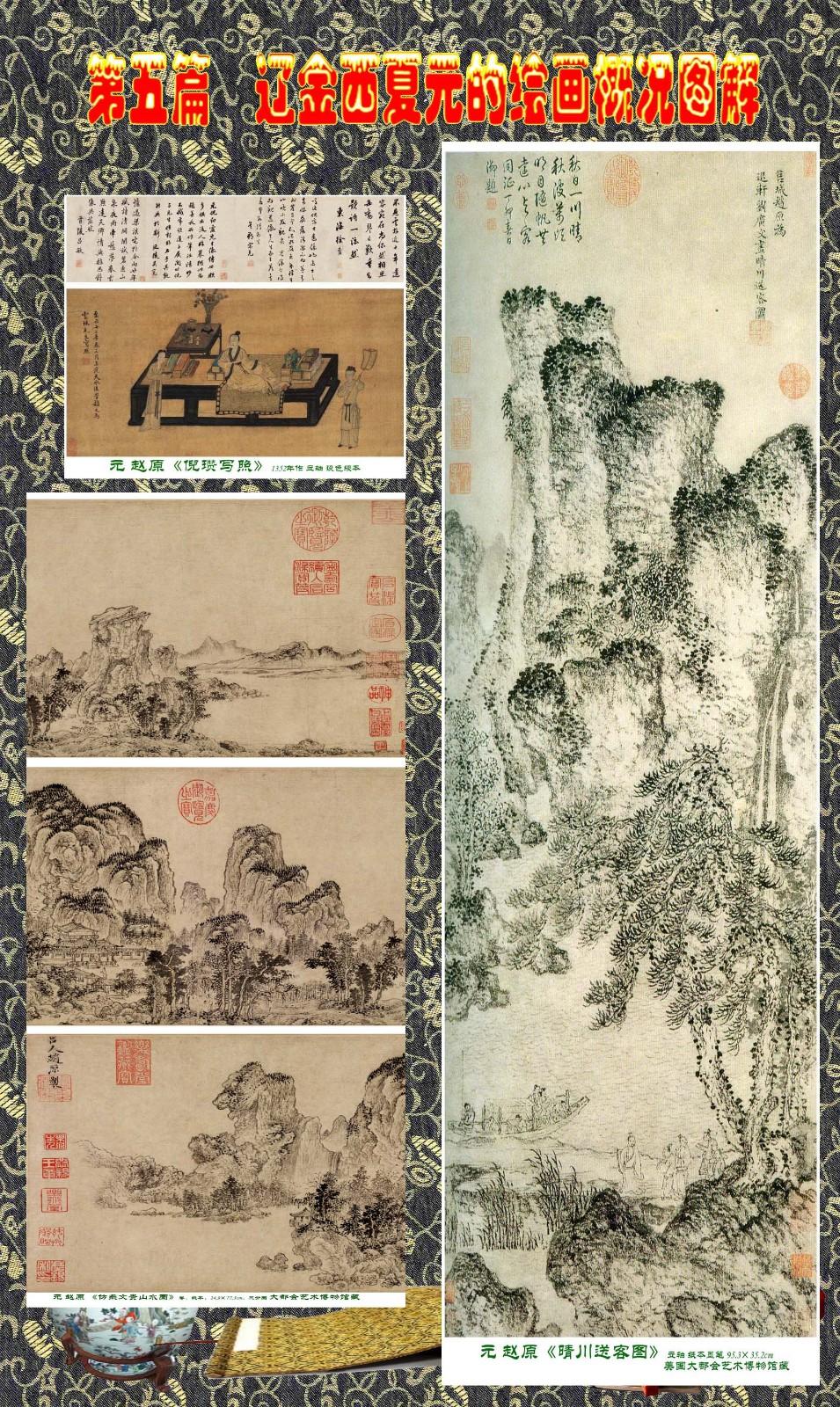 顾绍骅编辑 中国画知识普及版 第五篇 辽金西夏元的绘画概况 下 ... ..._图1-104