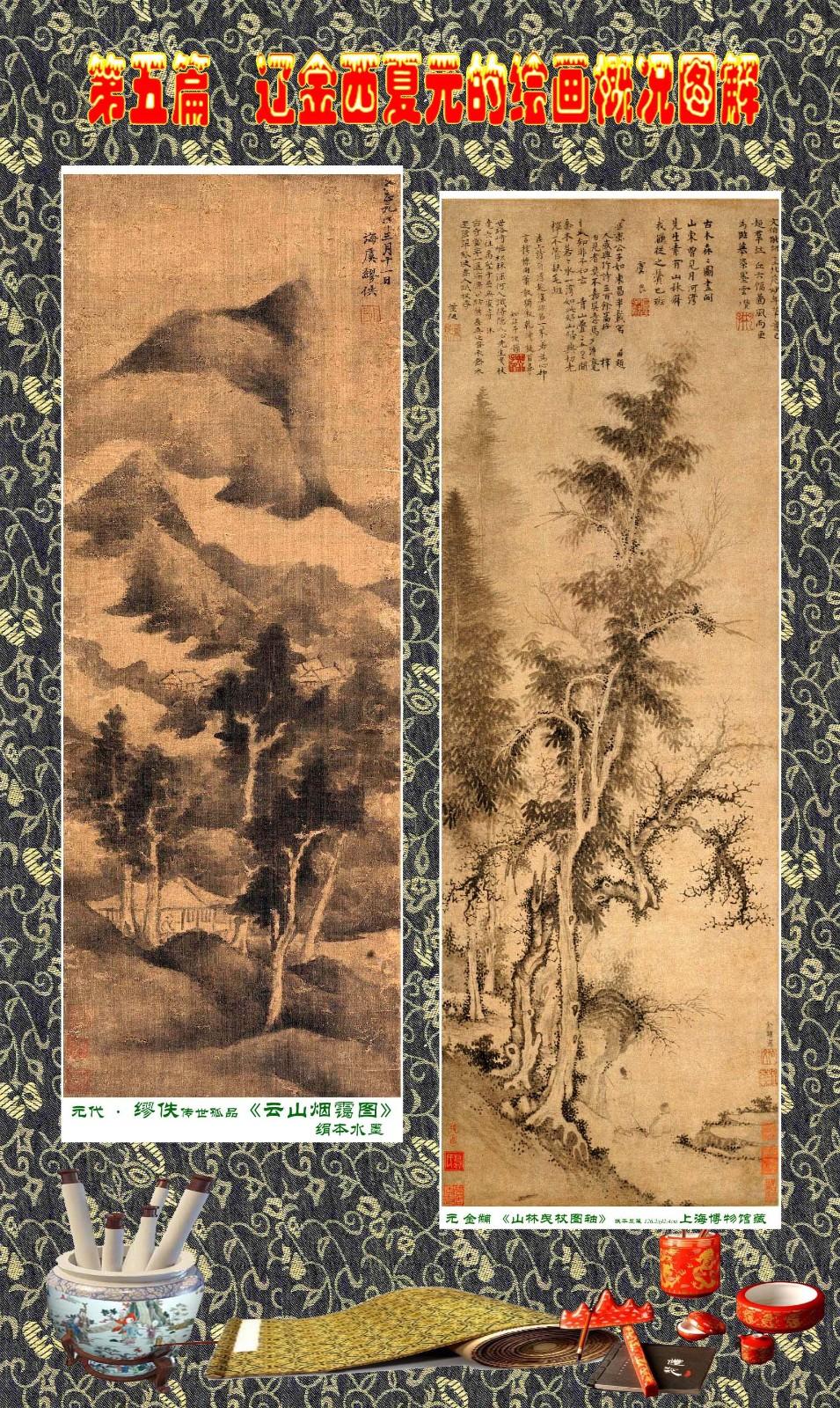 顾绍骅编辑 中国画知识普及版 第五篇 辽金西夏元的绘画概况 下 ... ..._图1-107
