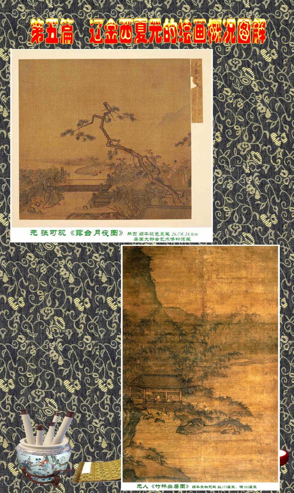 顾绍骅编辑 中国画知识普及版 第五篇 辽金西夏元的绘画概况 下 ... ..._图1-111