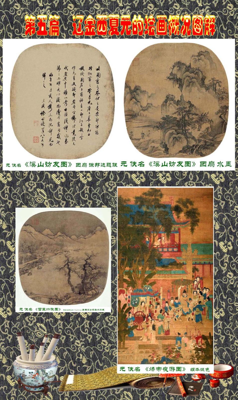 顾绍骅编辑 中国画知识普及版 第五篇 辽金西夏元的绘画概况 下 ... ..._图1-112