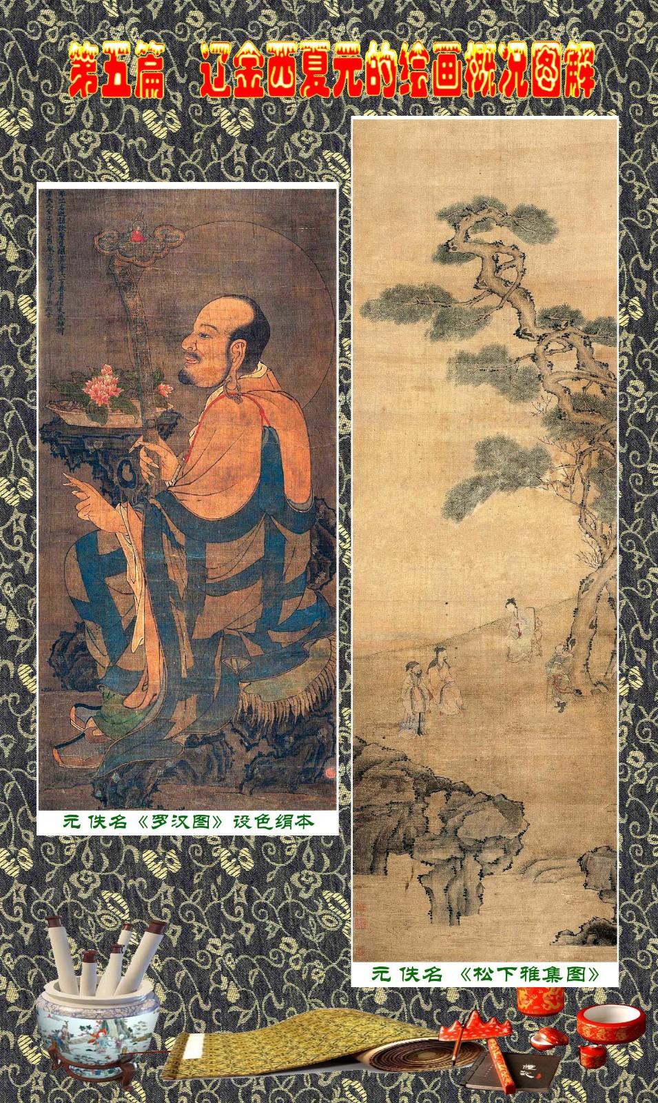 顾绍骅编辑 中国画知识普及版 第五篇 辽金西夏元的绘画概况 下 ... ..._图1-114