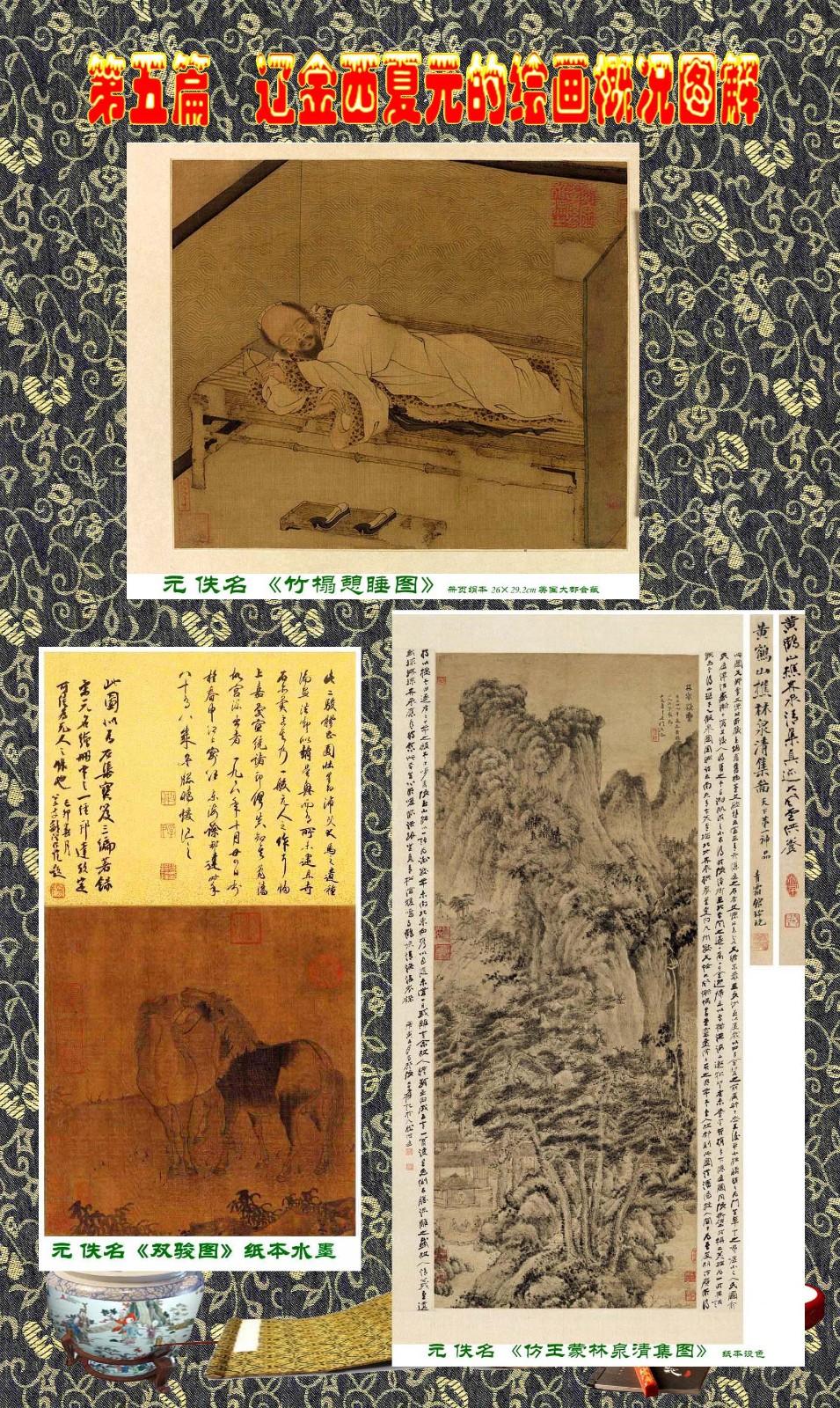 顾绍骅编辑 中国画知识普及版 第五篇 辽金西夏元的绘画概况 下 ... ..._图1-117