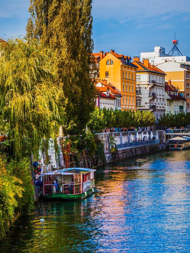 斯洛文尼亚首都卢布尔雅那(Ljubljana),城市风景_图1-3