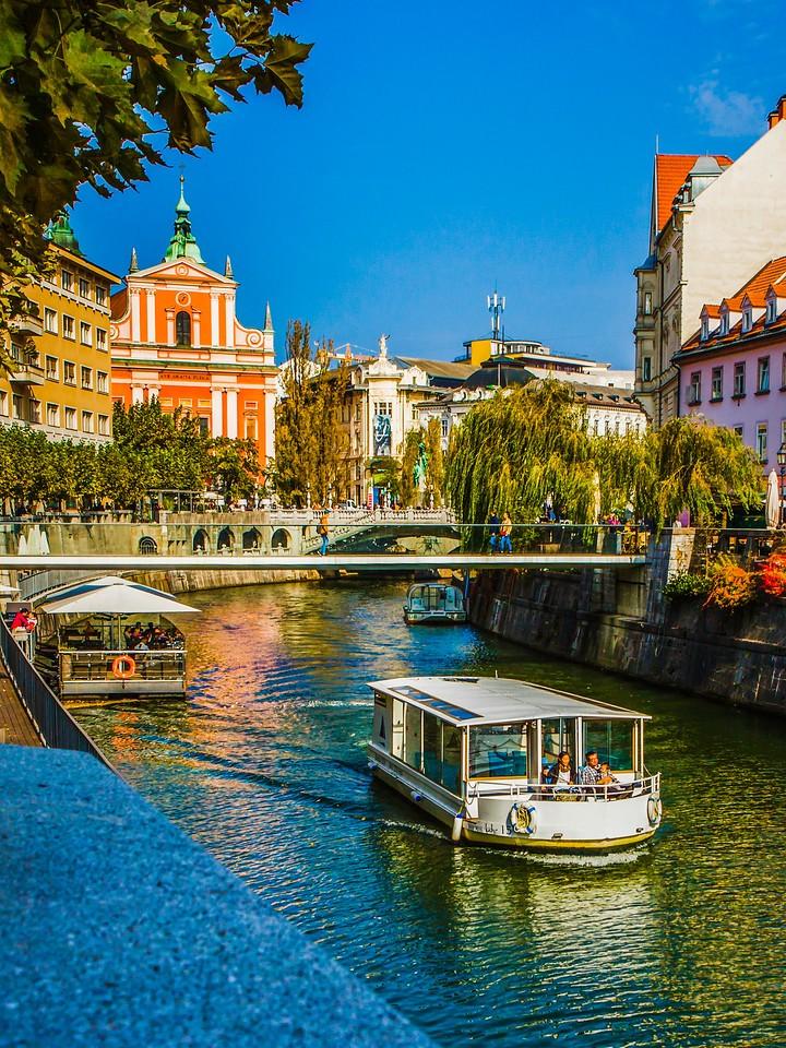 斯洛文尼亚首都卢布尔雅那(Ljubljana),城市风景_图1-1