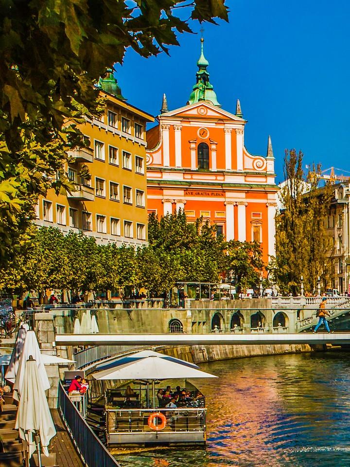 斯洛文尼亚首都卢布尔雅那(Ljubljana),城市风景_图1-4