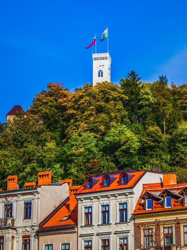 斯洛文尼亚首都卢布尔雅那(Ljubljana),城市风景_图1-6