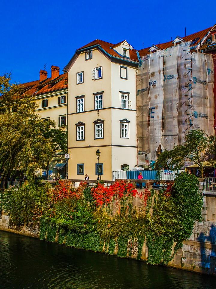斯洛文尼亚首都卢布尔雅那(Ljubljana),城市风景_图1-5