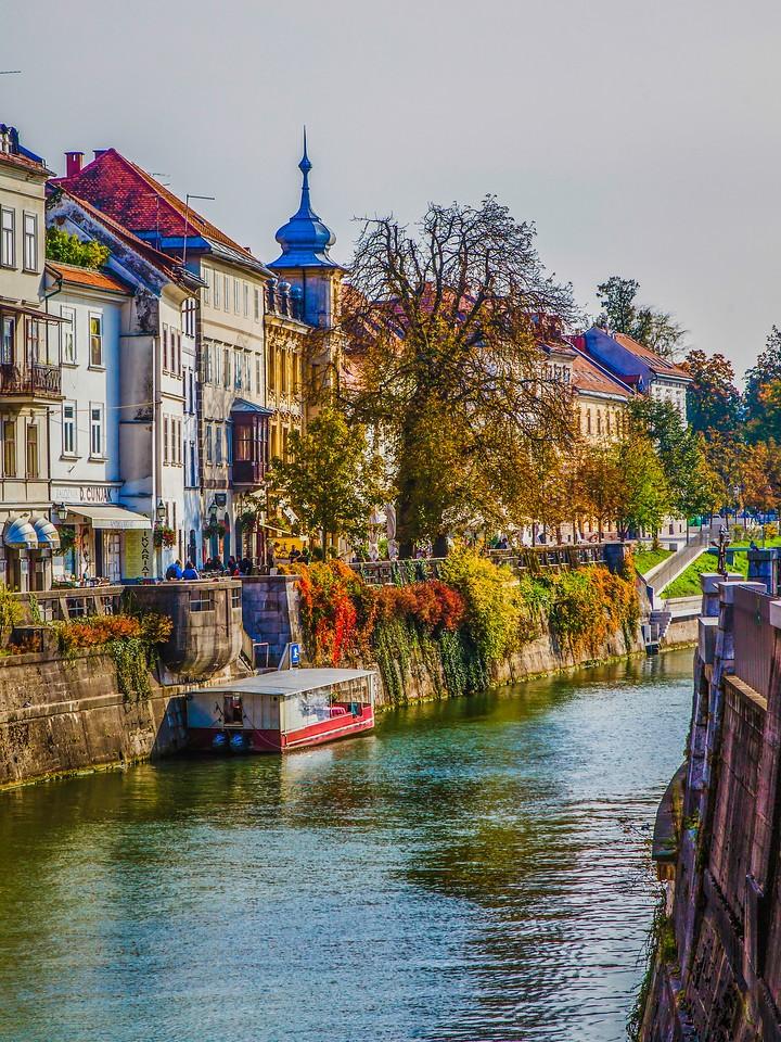 斯洛文尼亚首都卢布尔雅那(Ljubljana),城市风景_图1-12