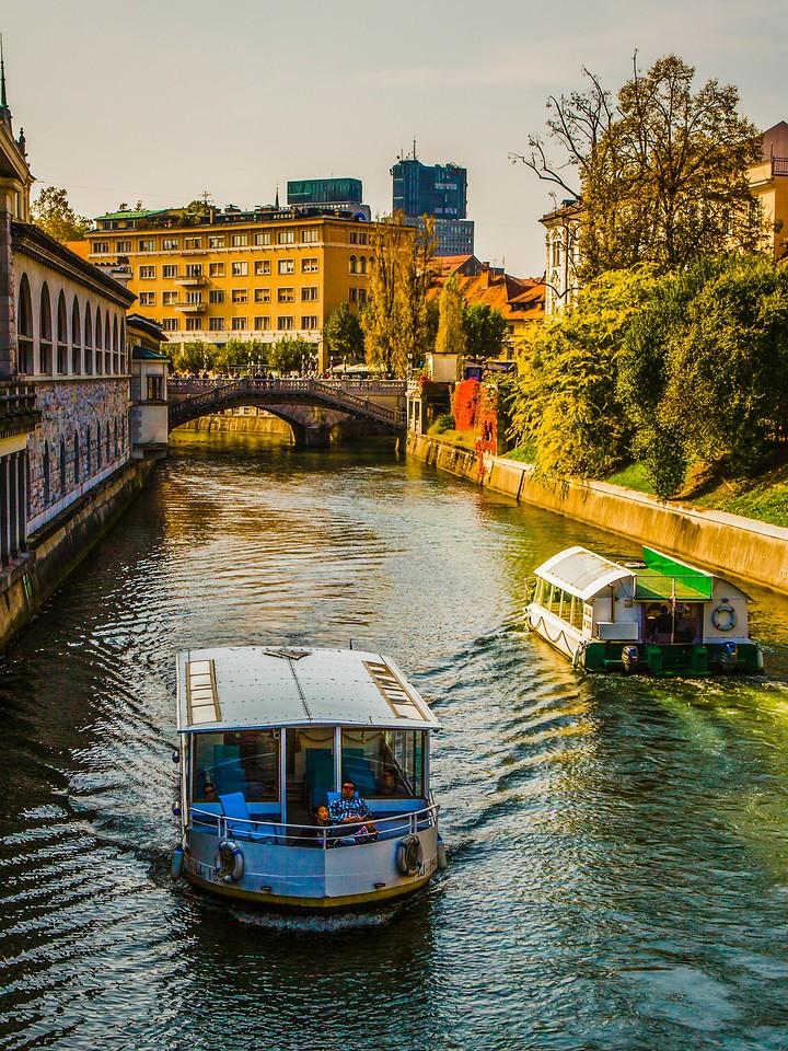 斯洛文尼亚首都卢布尔雅那(Ljubljana),城市风景_图1-11