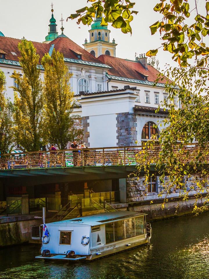 斯洛文尼亚首都卢布尔雅那(Ljubljana),城市风景_图1-20