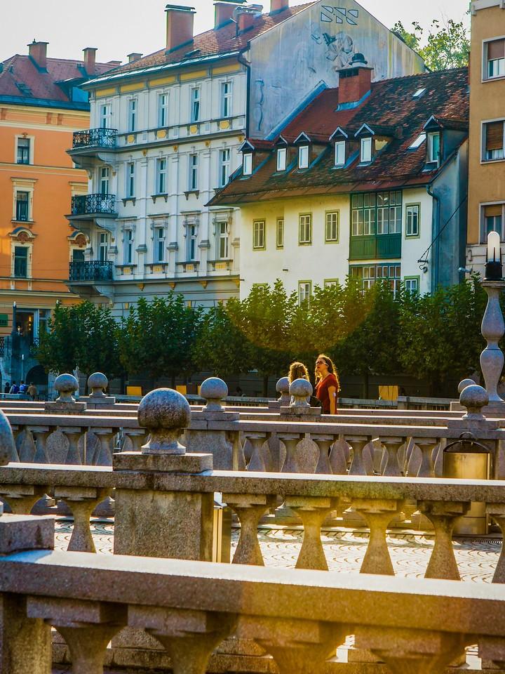斯洛文尼亚首都卢布尔雅那(Ljubljana),城市风景_图1-15