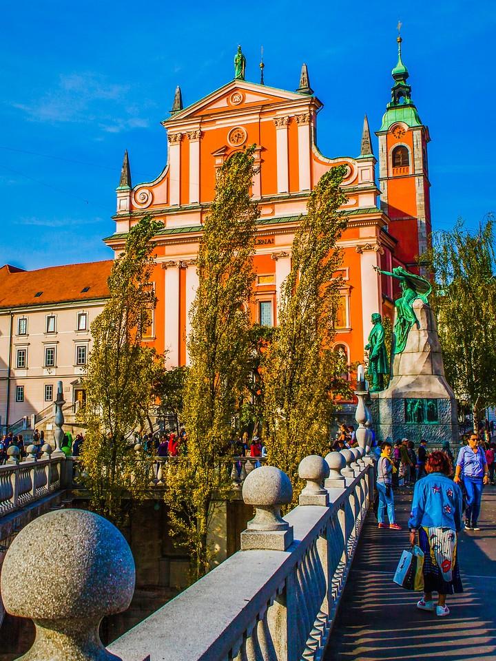 斯洛文尼亚首都卢布尔雅那(Ljubljana),城市风景_图1-10
