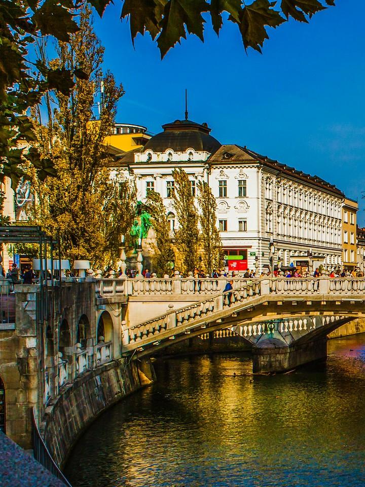 斯洛文尼亚首都卢布尔雅那(Ljubljana),城市风景_图1-16