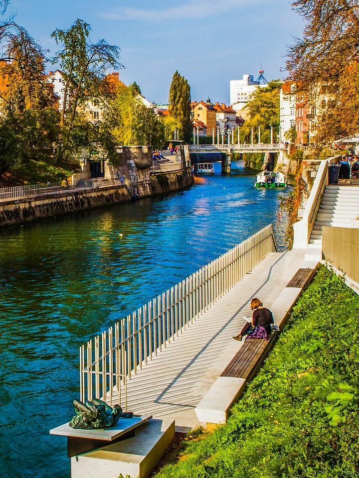 斯洛文尼亚首都卢布尔雅那(Ljubljana),城市风景_图1-19