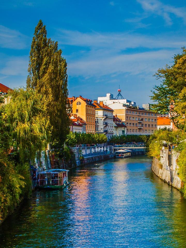 斯洛文尼亚首都卢布尔雅那(Ljubljana),城市风景_图1-18