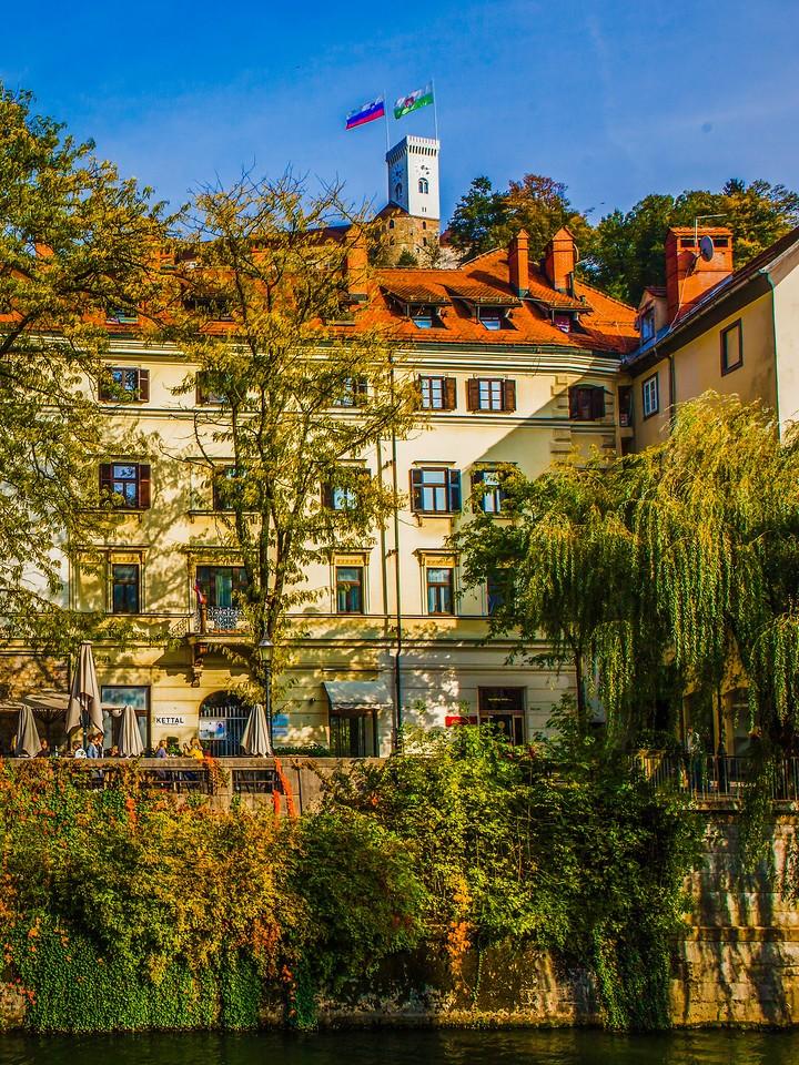 斯洛文尼亚首都卢布尔雅那(Ljubljana),城市风景_图1-17