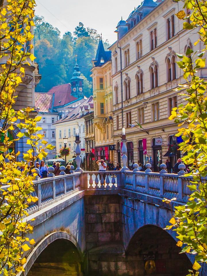 斯洛文尼亚首都卢布尔雅那(Ljubljana),城市风景_图1-21