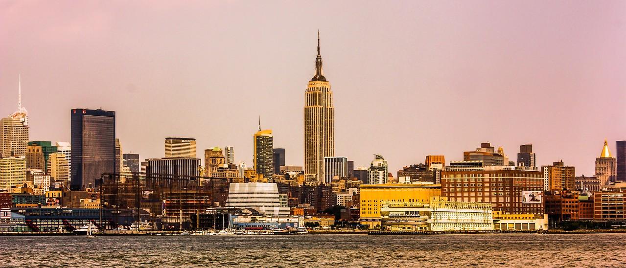 纽约大都市,隔岸观景_图1-1