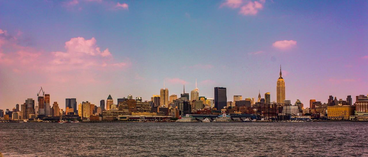纽约大都市,隔岸观景_图1-3