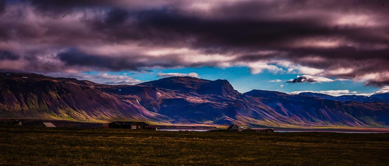 冰岛Arnarstapi,远处的景色_图1-10