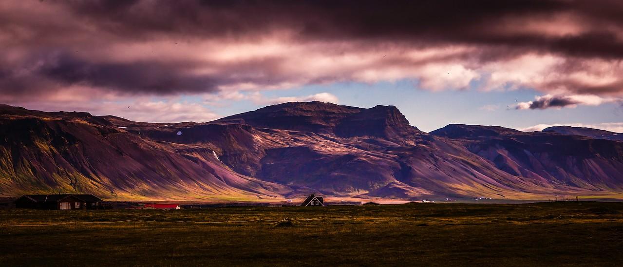 冰岛Arnarstapi,远处的景色_图1-6