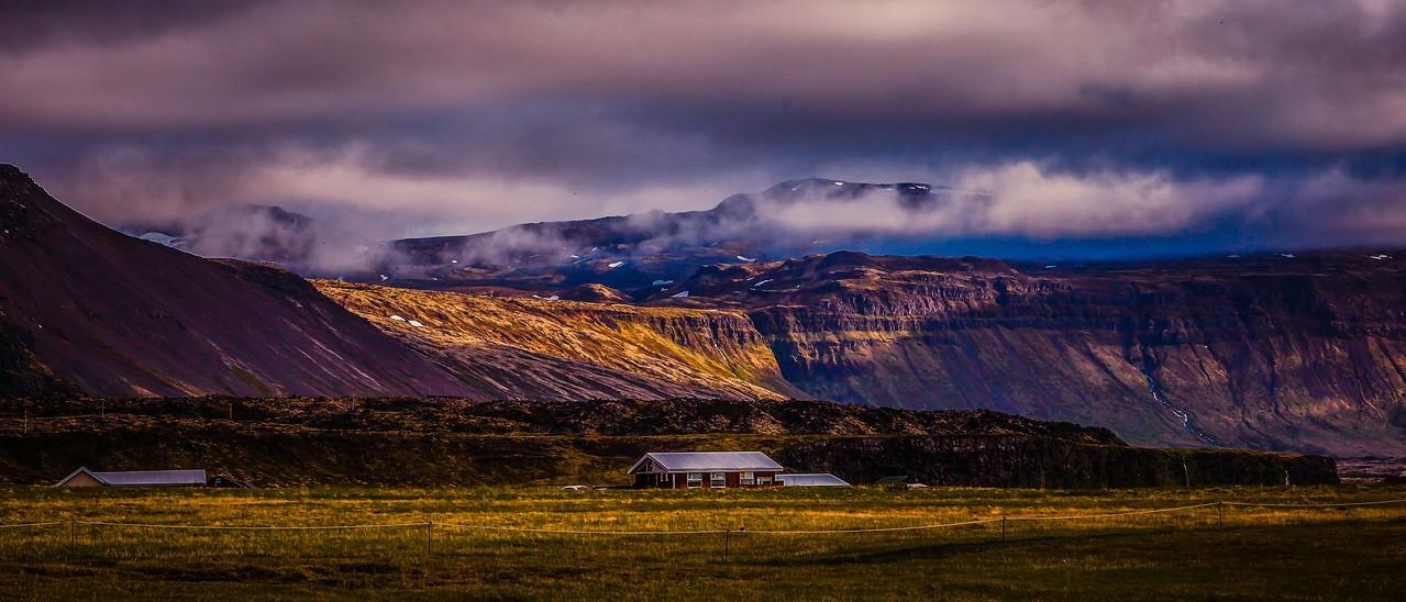 冰岛Arnarstapi,远处的景色_图1-9