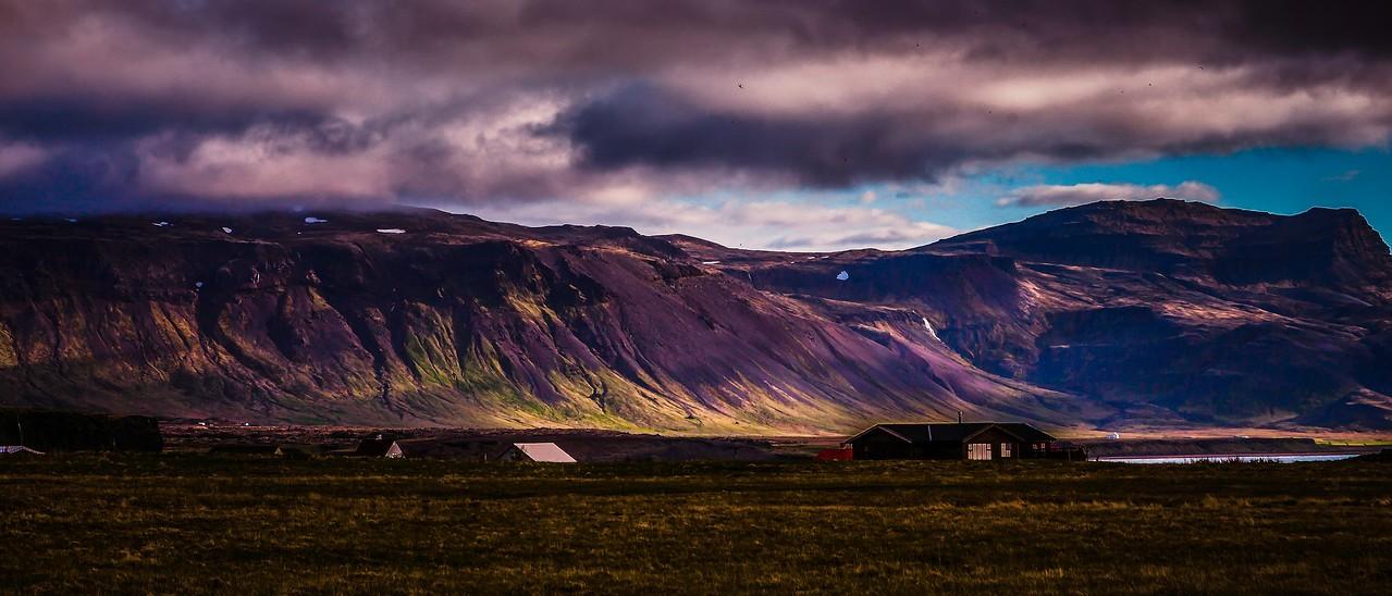 冰岛Arnarstapi,远处的景色_图1-1