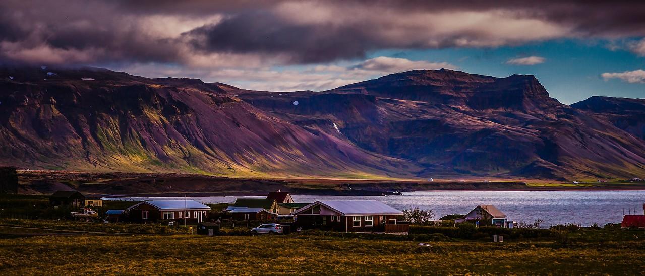 冰岛Arnarstapi,远处的景色_图1-2