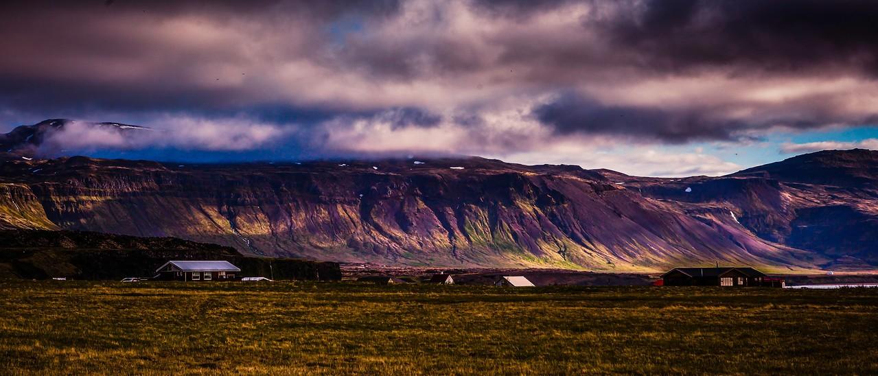 冰岛Arnarstapi,远处的景色_图1-8
