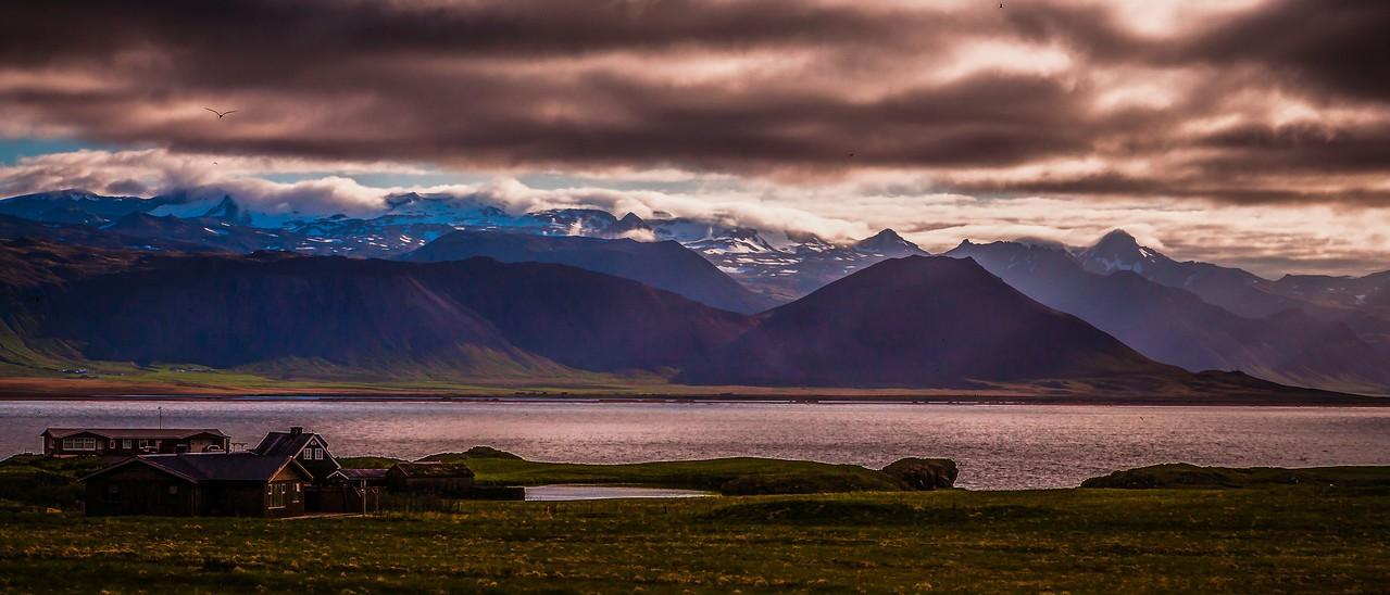 冰岛Arnarstapi,远处的景色_图1-3