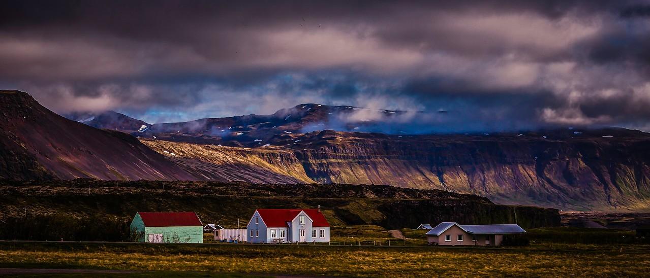 冰岛Arnarstapi,远处的景色_图1-4