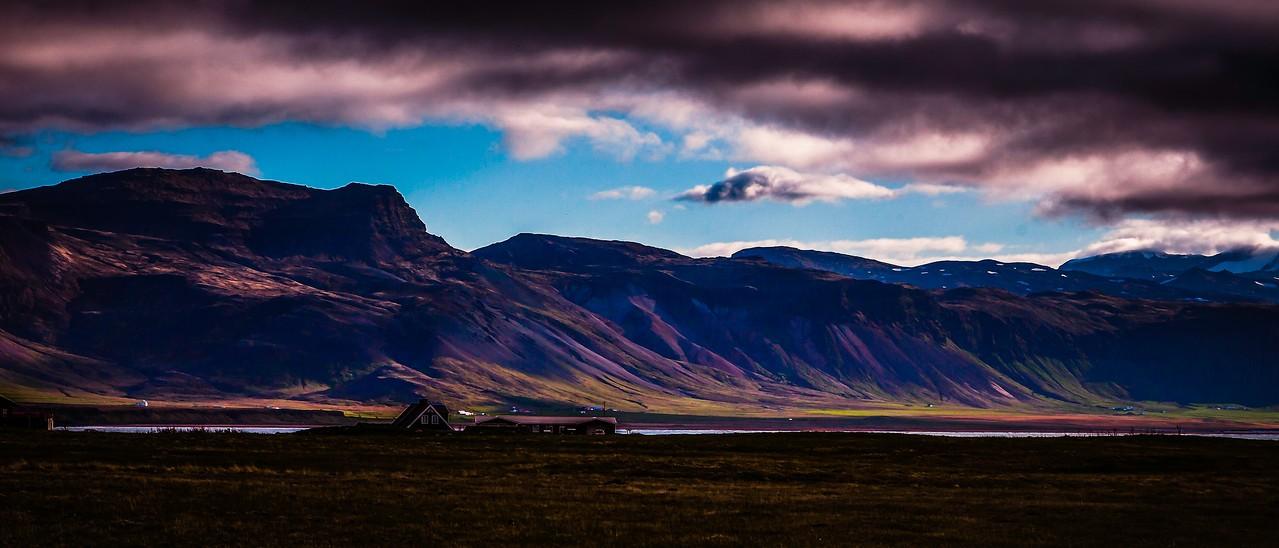 冰岛Arnarstapi,远处的景色_图1-5