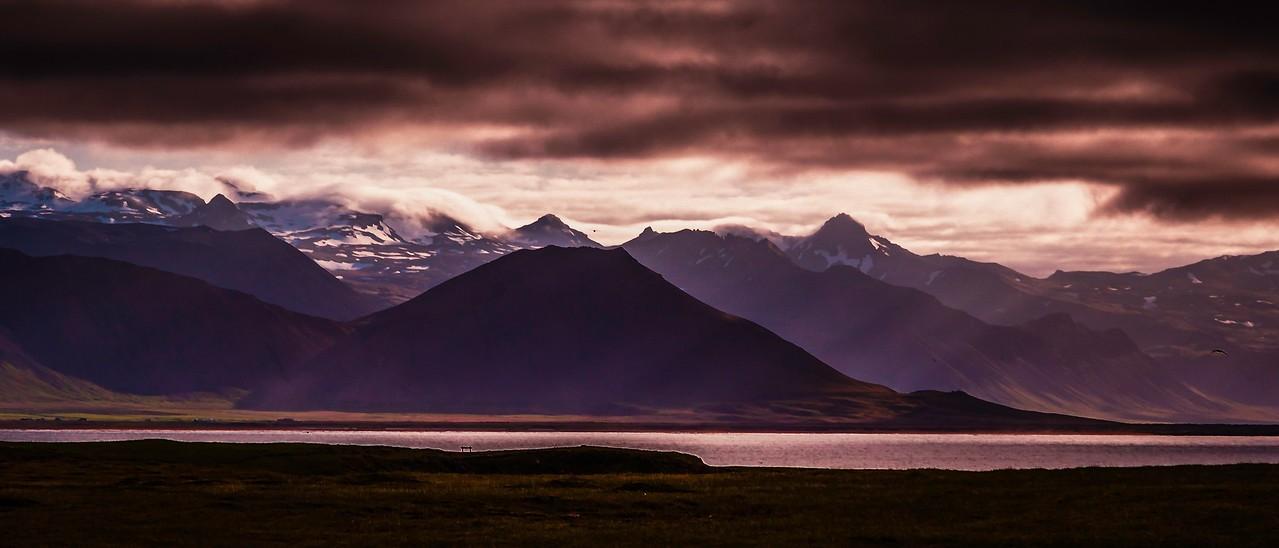 冰岛Arnarstapi,远处的景色_图1-7