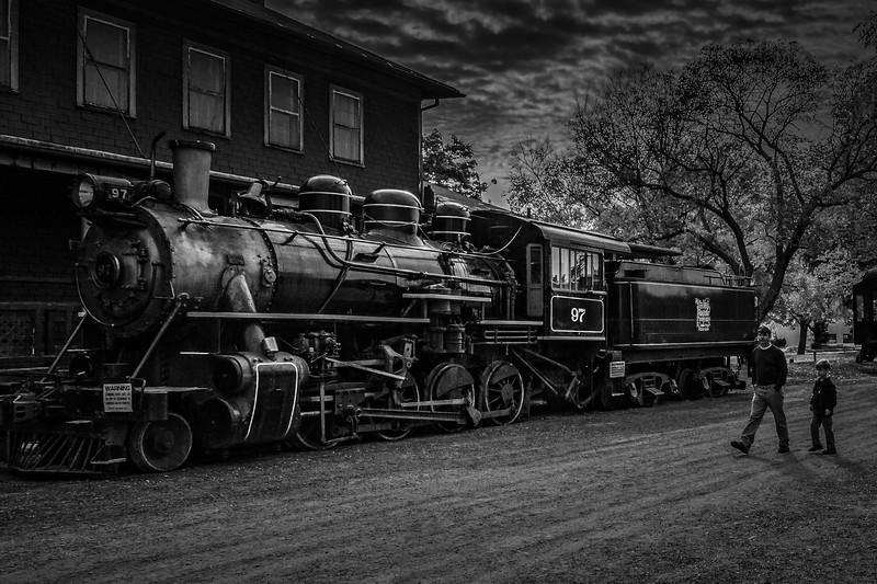 宾州蒸汽火车博物馆,远去的记忆_图1-2