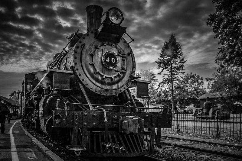 宾州蒸汽火车博物馆,远去的记忆_图1-3