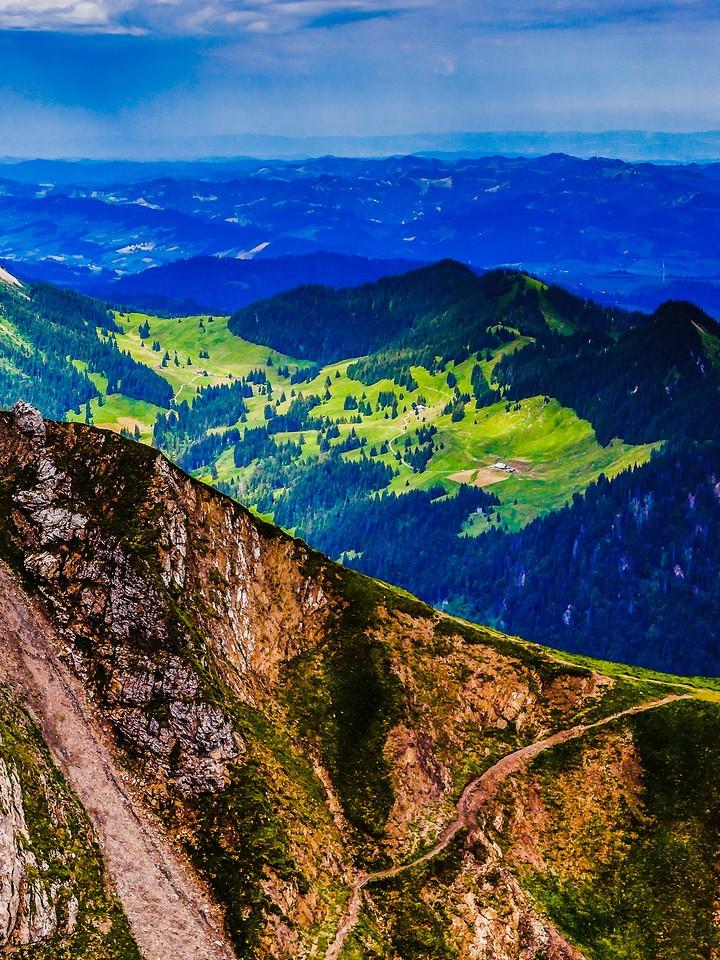 瑞士卢塞恩(Lucerne),登顶瞭望_图1-17
