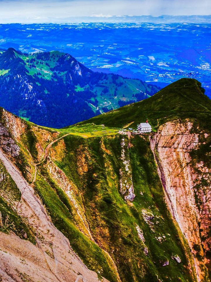 瑞士卢塞恩(Lucerne),登顶瞭望_图1-13