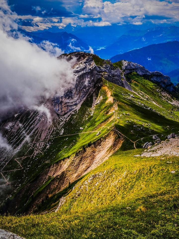 瑞士卢塞恩(Lucerne),登顶瞭望_图1-15