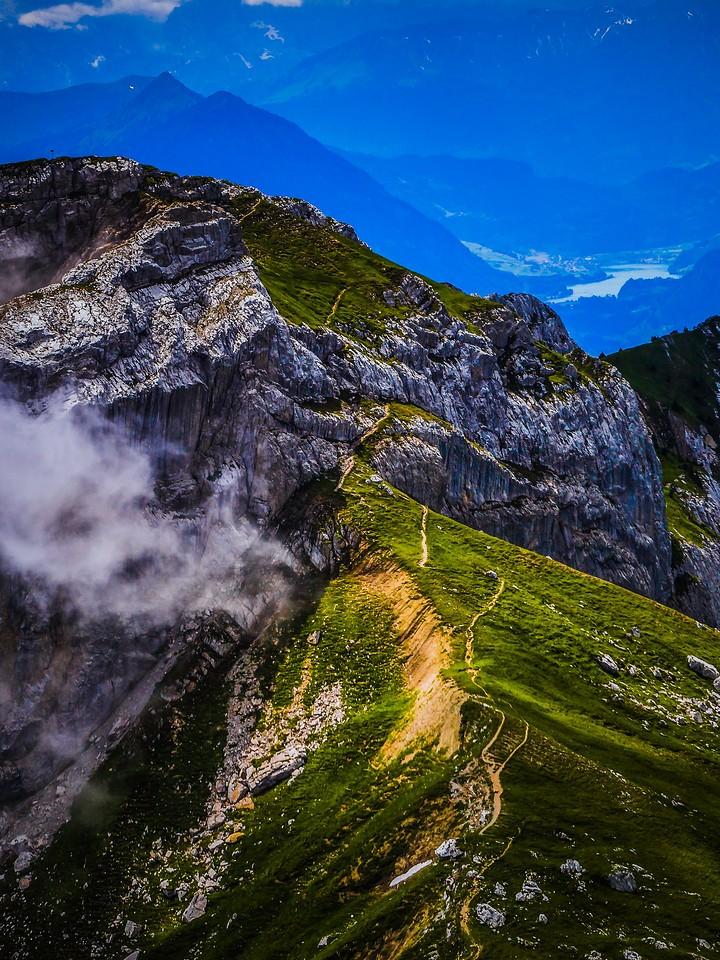 瑞士卢塞恩(Lucerne),登顶瞭望_图1-12