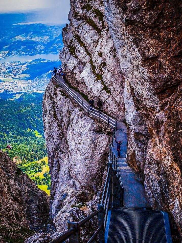 瑞士卢塞恩(Lucerne),登顶瞭望_图1-10