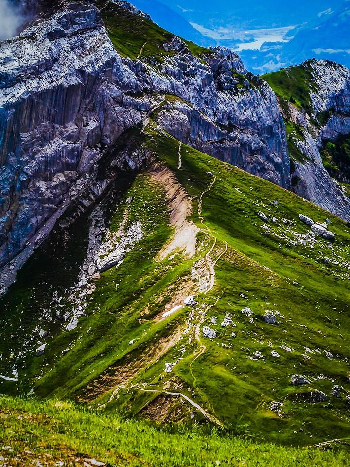 瑞士卢塞恩(Lucerne),登顶瞭望_图1-5