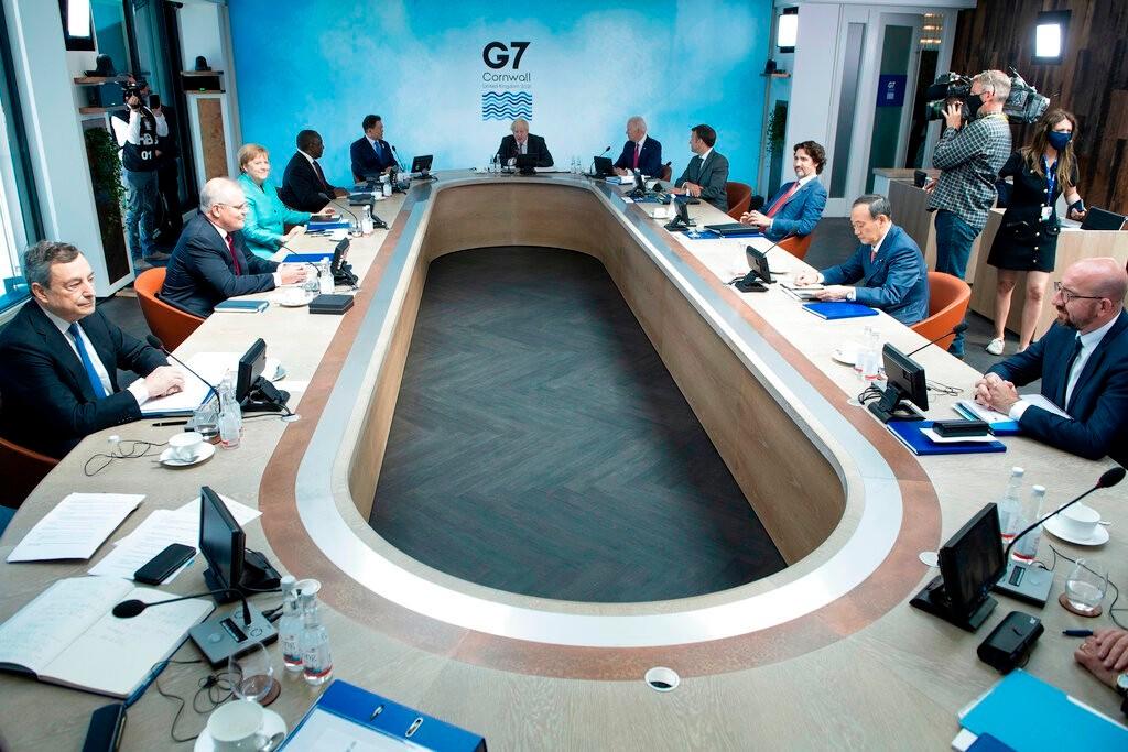 拜登欲联合G7抗中  各国或各有打算_图1-2