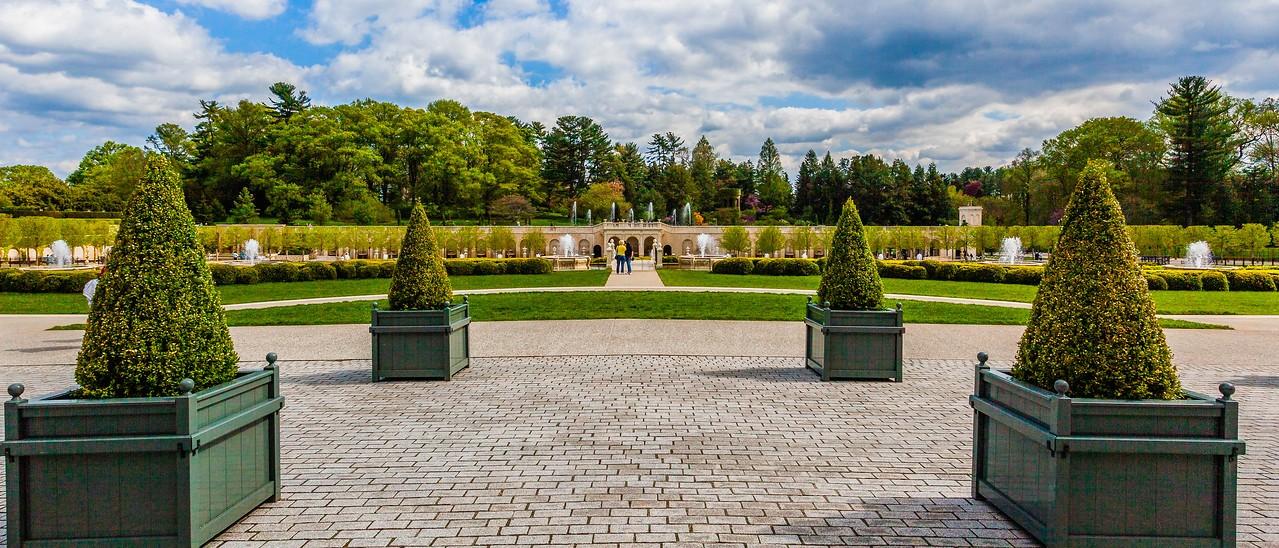 宾州长木公园,中央喷泉花园_图1-2