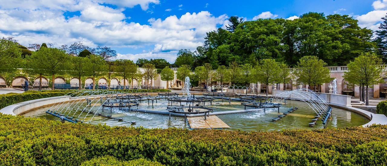 宾州长木公园,中央喷泉花园_图1-7