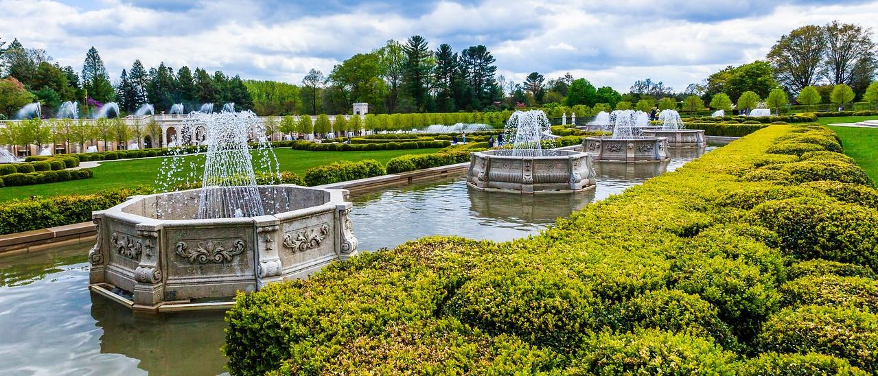 宾州长木公园,中央喷泉花园_图1-6
