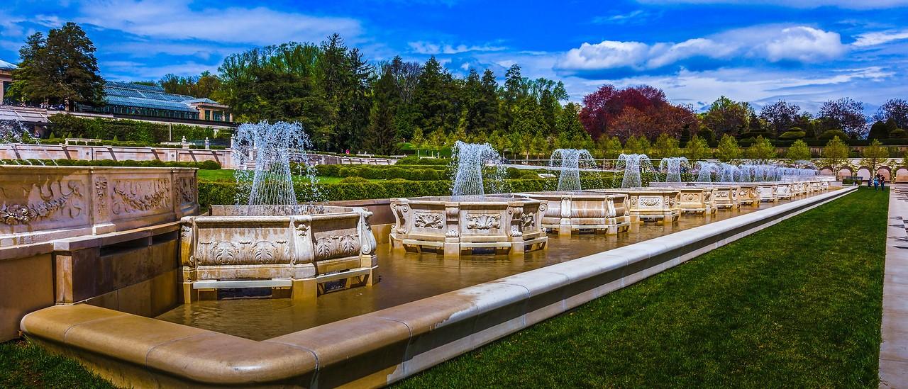 宾州长木公园,中央喷泉花园_图1-5
