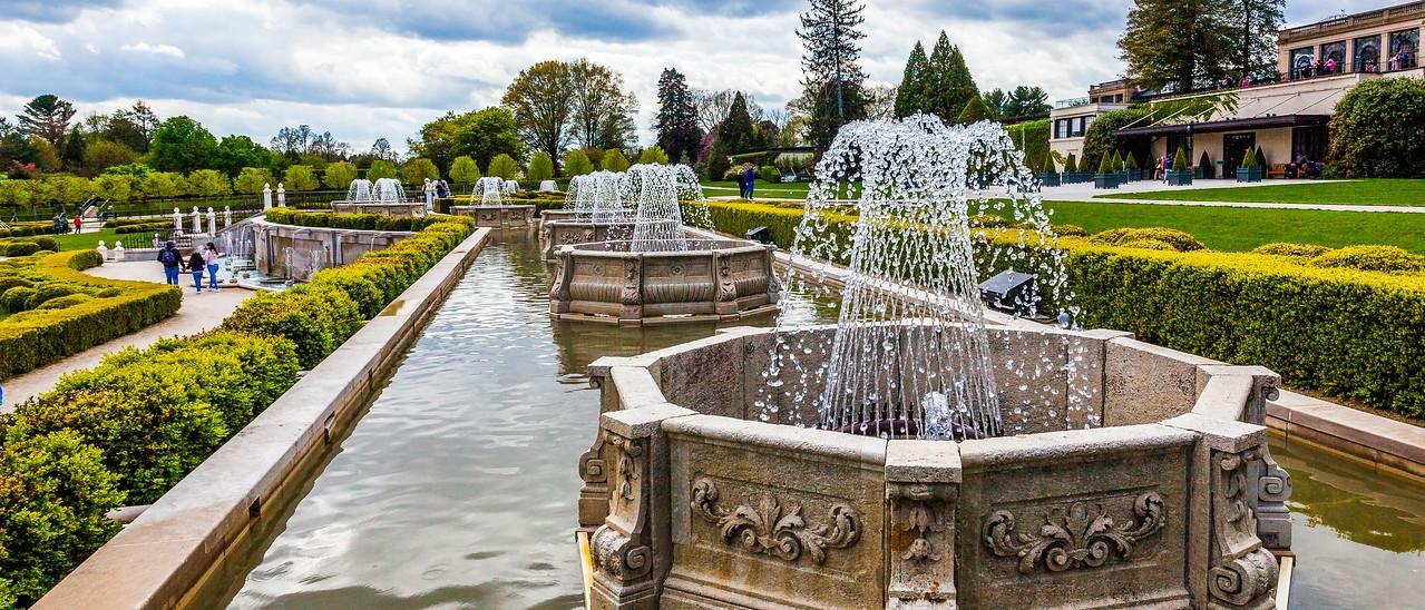 宾州长木公园,中央喷泉花园_图1-16